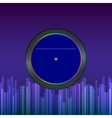 record disk abstract background for your design vector image