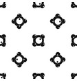 chemical and physical molecules pattern seamless vector image vector image