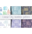City Line seamless vector image