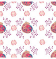 seamless pattern colorful with vector image vector image