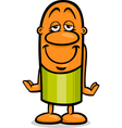 accepted guy cartoon vector image vector image