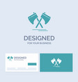 axe hatchet tool cutter viking business logo vector image vector image