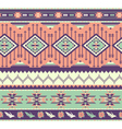 Aztecs seamless pattern on pink color vector image vector image
