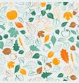 Happy thanksgiving seamless pattern