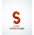 Letter company logo vector image