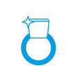 ring icon image vector image vector image