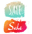 Sale Banner Set vector image