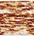 seamless golden texture fabric with sequins vector image vector image
