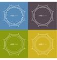 Set framework for multi colored backgrounds vector image vector image