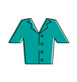 shirt button up clothes icon image vector image vector image