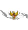 symbol indonesian icon national logo vector image vector image
