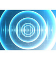 technological abstract digital blight wave signal vector image vector image