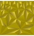 golden polygonal vector image