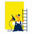 handyman craftsman any repair with your own hands vector image