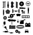 auto service items vector image