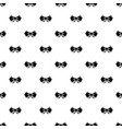bow tie hipster pattern seamless vector image vector image
