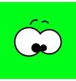 cartoon eyes Eps10 vector image vector image