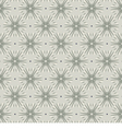 Gray Vintage Graphic Seamless Pattern vector image vector image