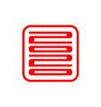 happy new year rat 2020 icon vector image vector image