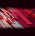 metal red background vector image vector image