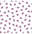 simple seamless pattern with girl eye isolated vector image