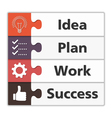 Success Concept vector image vector image