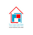 architecture logo vector image