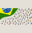 brazilian independence anniversary celebration and vector image vector image