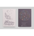 Christmas and new year hand drawn icons set vector image vector image