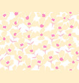 floral pattern in the small flowerseamless vector image