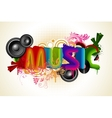 Musical Background vector image vector image