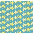 pattern of autumn maple leaves vector image