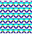 abstract geometric pattern neon colors vector image vector image