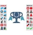 Award Cup Icon vector image