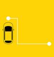 concept taxi service vector image