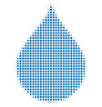 drop halftone icon vector image