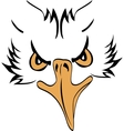 Eagle Head Profile vector image vector image