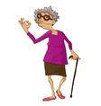 Grandma vector image
