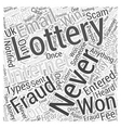internet fraud Word Cloud Concept vector image vector image