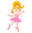 Little fairy ballerina vector image vector image