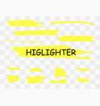 markers blots vector image vector image