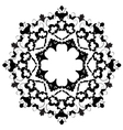 Ottoman motifs design series with two vector image vector image
