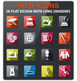 tailoring icon set vector image vector image