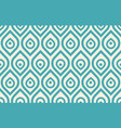 vintage peacock pattern vector image vector image