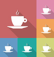 Icon of Coffee Cup vector image