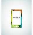 Smartphone logo vector image