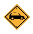 car parking signal icon vector image vector image