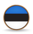 Estonia Seal vector image vector image