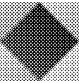 geometrical dot pattern background - monochrome vector image vector image