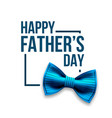 happy father s day banner design satin vector image vector image